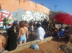 חוף התופים בתל אביב - חגיגת מוסיקה אורבנית מול הים