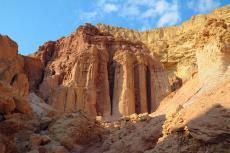 עמודי עמרם - כשהטבע מפסל במדבר