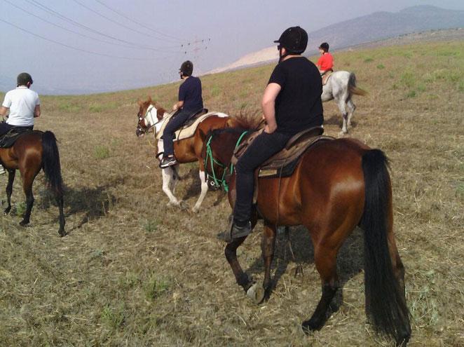 חווית הרוכבים הגלילית בקיבוץ לביא