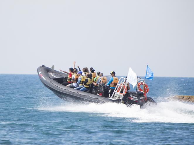 טרק ים אכזיב שייט טורנדו לראש הנקרה