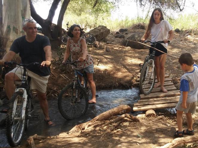 טיולי אופניים סודות שבעמק
