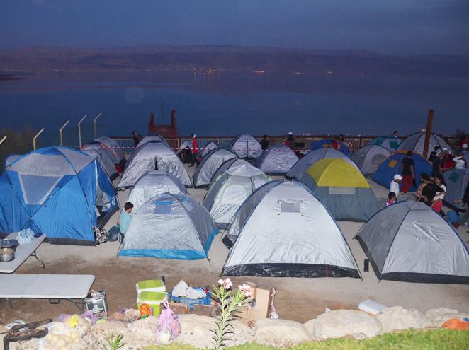 קמפינג חוף קליה