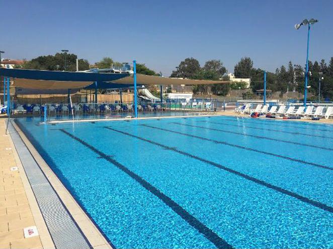 הבריכה האולימפית בקרית שמונה