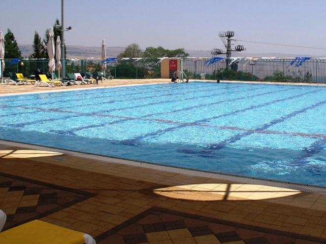 בריכת שחייה חד נס