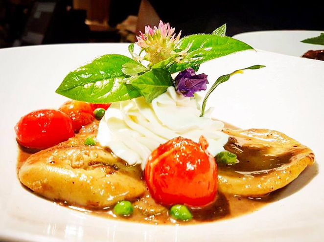 מסעדת שלו ביער - מסעדת שף, מטבח צרפתי - איטלקי
