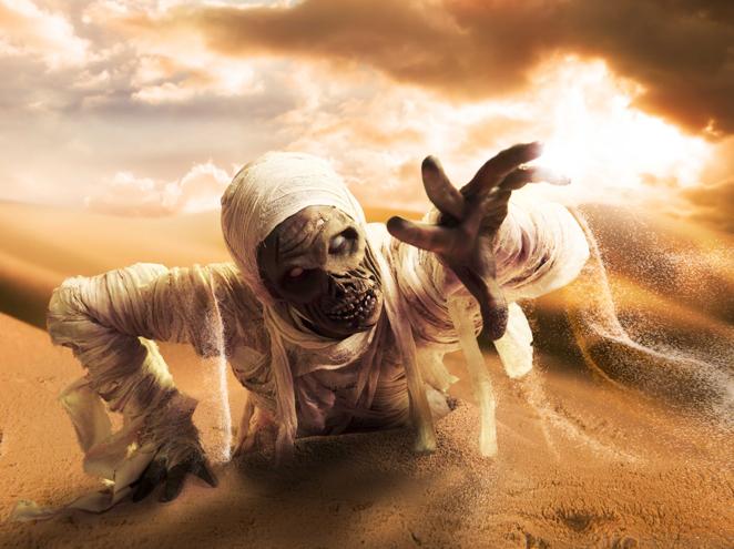 המומיה  אילת - מבוך לעולם המתים