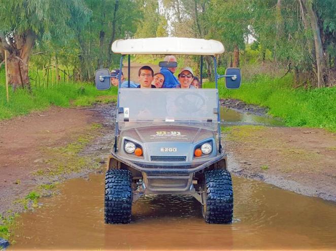 נע נע - רכבי שטח בנהיגה עצמית
