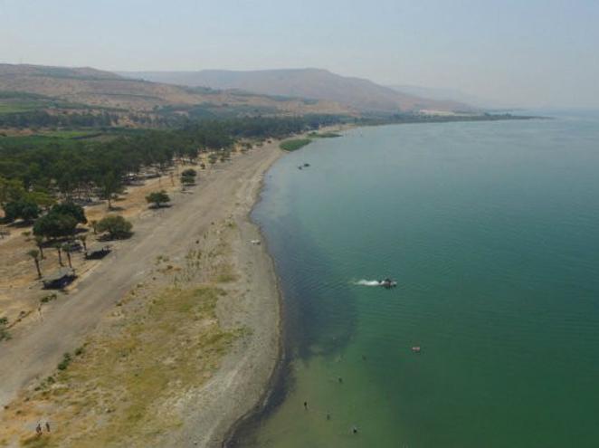 חניון קראוונים שמורת חוף דוגה