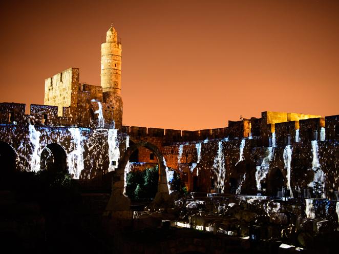 מגדל דוד - מופעי לילה