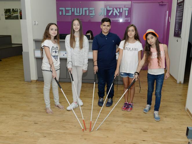 דיאלוג בחשיכה - מוזיאון הילדים הישראלי בחולון