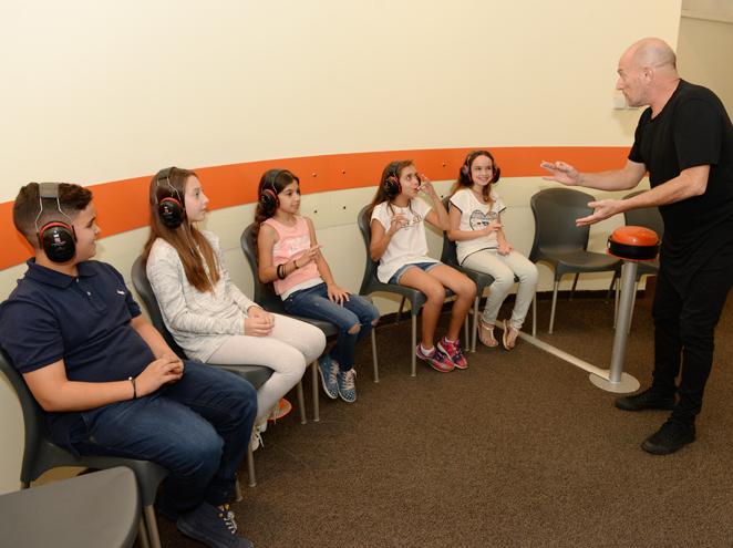 הזמנה לשקט - מוזיאון הילדים הישראלי בחולון