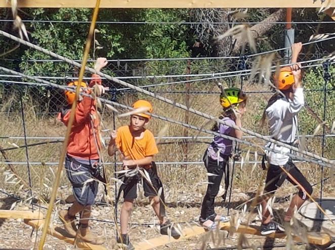 אתגר בהר - פארק חבלים