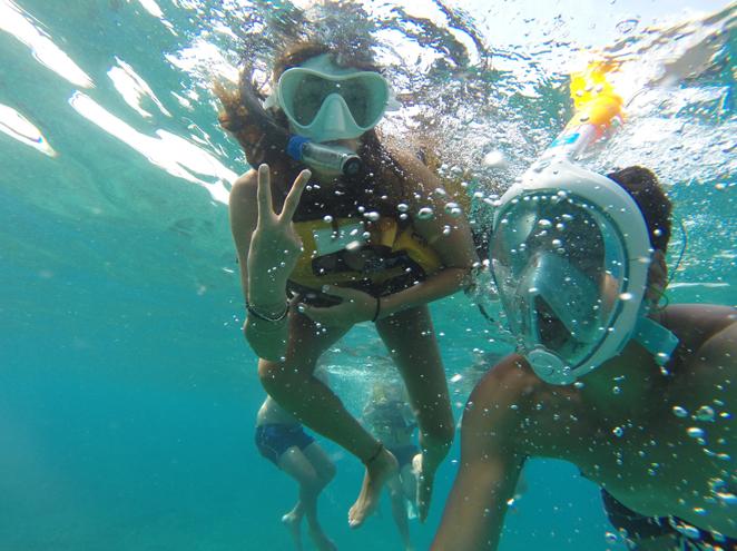 טרק ים שנירקול באיי אכזיב הקסומים