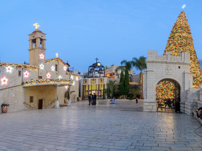 סיורי חג המולד בנצרת - טיולי לב