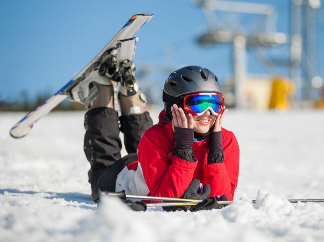 סקי באתר החרמון