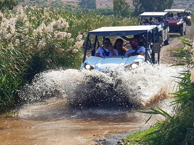 רייזרים נהר הירדן - טיולי שטח בגליל העליון