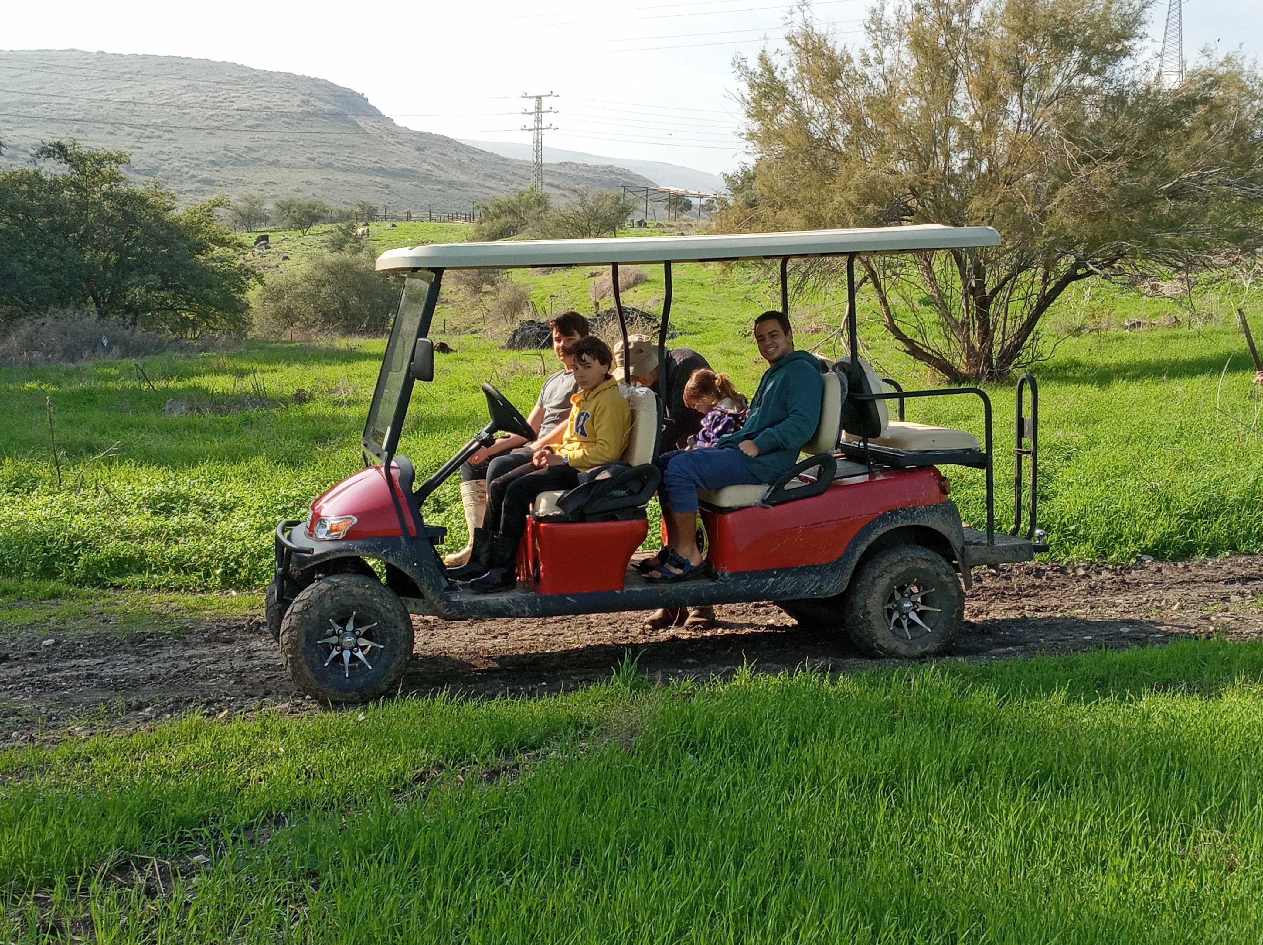 מרכבות הירדן - טיולים מזמרים ברכב ירוק