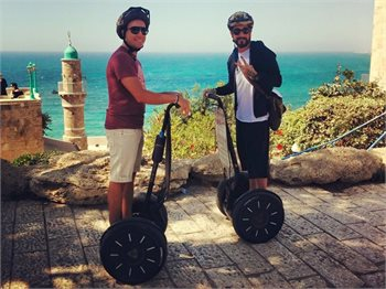 smart-tour טיולי סגווי בתל אביב