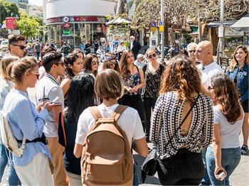 סיורים מודרכים ברחבי תל אביב - יפו
