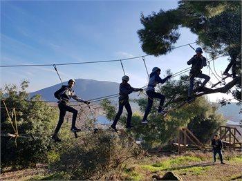 אתגר בהר - פארק חבלים בחיק הטבע