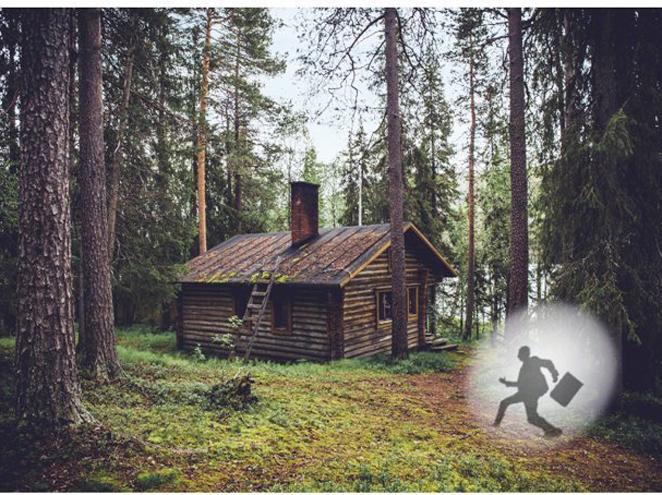 הבקתה ביער חדר בריחה