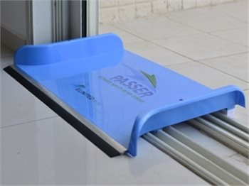 PASSER - מנקז מים פטנט מיוחד לניקוז מים מהבית למרפסת
