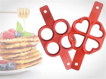 שבלונה להכנת פנקייק פנקייקים מדוייקים ומושלמים בצורות שונות