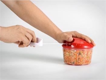 קוצץ עם חוט Mini Chopper קומפקטי - לחיתוך ירקות- במגוון גדלים