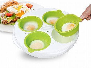כלי להכנת ביצים עלומות ואומלט במיקרוגל