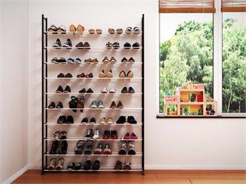 ארון נעליים מודולרי ללא כיסוי