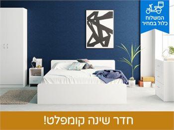 חדר שינה ROYAL עשוי כולו מ-M.D.F מלא ועבה