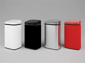 פח אלקטרוני אנטיבקטריאלי -  40 ליטר במגוון צבעים לבחירה