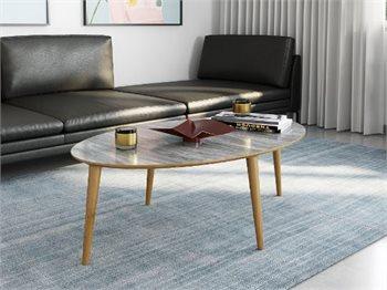 שולחן סלון דגם רויאל - שולחן סלון מעוצב במראה מודרני