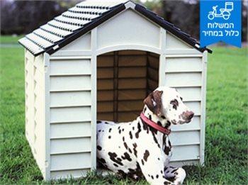 מלונה גדולה לכלב Starplast