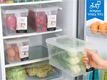 קופסאות אחסון לבית מושלם לסדר במקרר או במזווה!