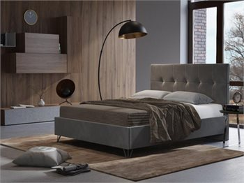 מיטה זוגית ROMI מרופדת, מידת מזרן Instyle 140X190