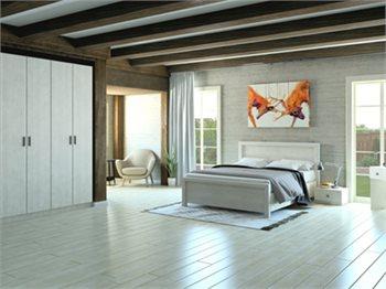 חדר שינה SUMMER+ארון מיטה זוגית, שידות, ארון, שולחן איפור ומראה