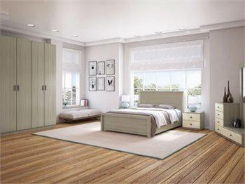 חדר שינה ARGO+ארון מיטה זוגית, שידות, ארון, 2 קומודות ומראה
