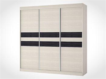 """ארון הזזה 3 דלתות  NAPOLI ברוחב 180 ס""""מ"""