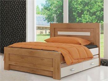 מיטת נוער ROTEM עם מיטה תחתית ומגירות עשוייה MDF