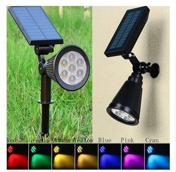 מנורת גן איכותית סולארי צבעוני - מחיר בלעדי לגולשי קופונופש שופ