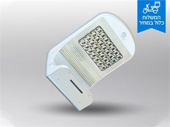 מנורת חומה דגם ענבל סולארית בעלת חיישן נפח תנועה