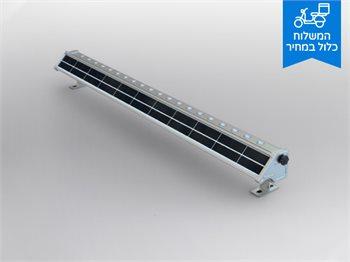 פס לד סולארי ארוך המיועד להארת שלטים וכניסות