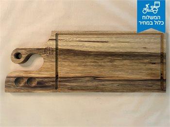 בוצ'ר ענק-מעץ אגוז - לוח קצבים מקצועי ענק, לכל סוגי נתחים