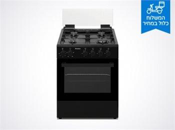 תנור משולב כיריים גז 60 ס''מ peerless פירלס