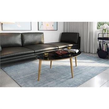 שולחן סלון רויאל-שחור-שולחן סלון מעוצב במראה מודרני