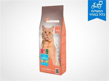 """מזון לחתולים מסדרת הפרימיום של Happy One - מארז 10 ק""""ג"""