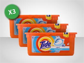 78 קפסולות ג'ל לכביסה טייד Tide