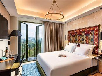 מלון בראון JLM ירושלים מבית מלונות בראון - חופשת קיץ אורבנית