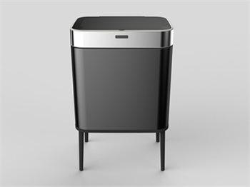 פח אשפה אוטומטי בעיצוב חדשני כולל רגליים 40 ליטר